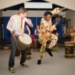 Fundraiser organized by Camosun College's Service Learning Program - Wontanara Drum & Dance troupe