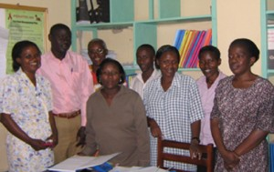 HIV counseling staff in 2005. Now there are over 50!