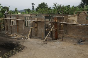 First classroom in 2nd school building nears completion