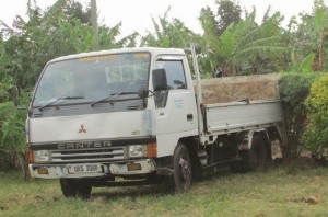 Truck purchased by PODA for COBRA to use in their projects.