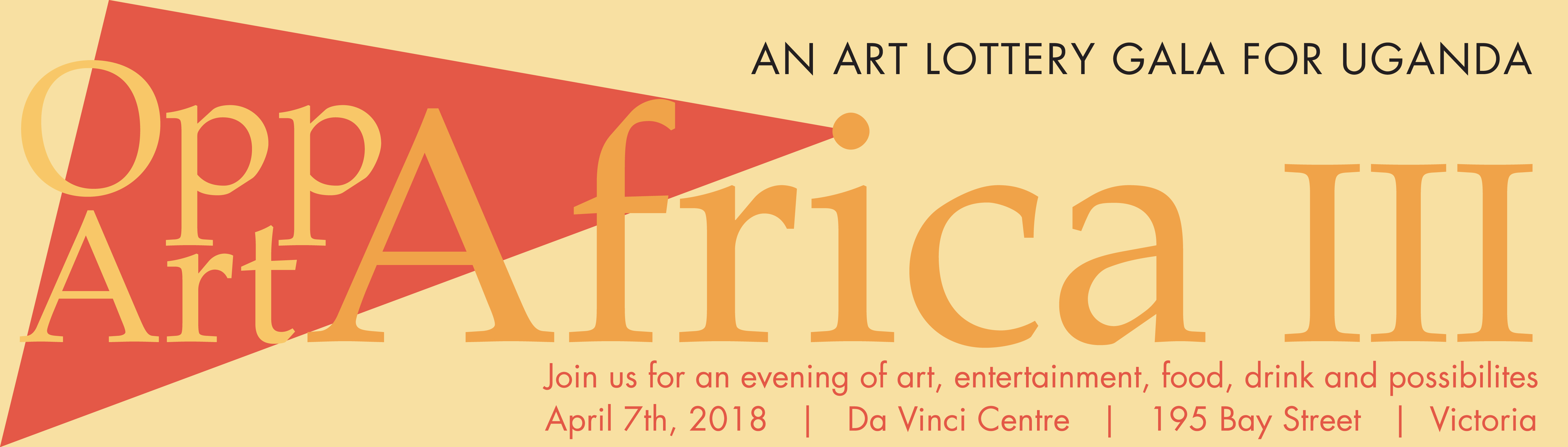 An Art Lottery Gala for Uganda