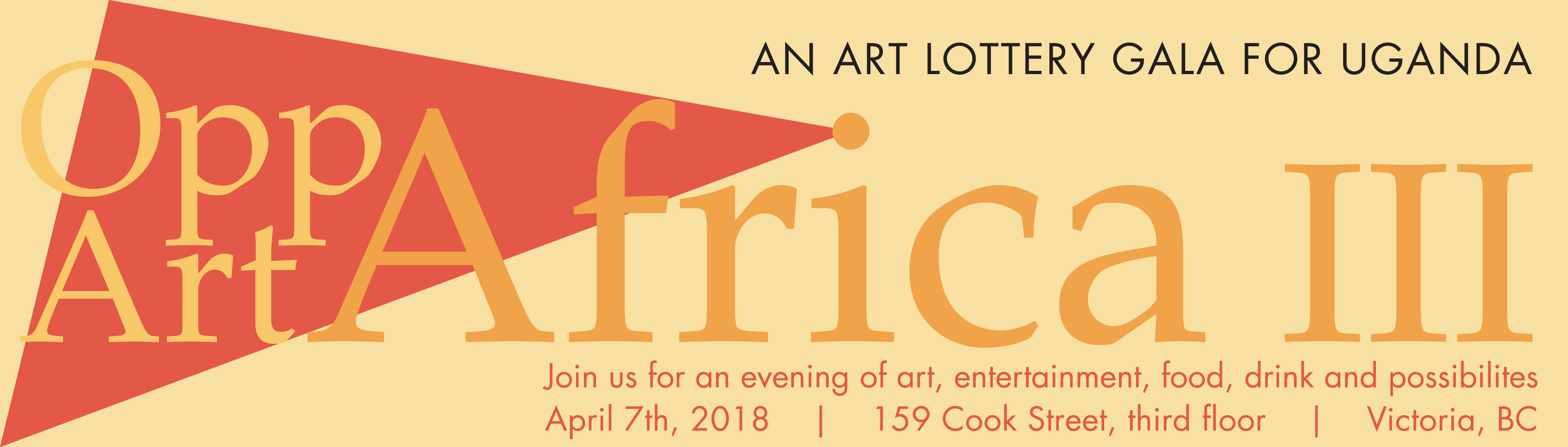 An Art Lottery Gala for Uganda